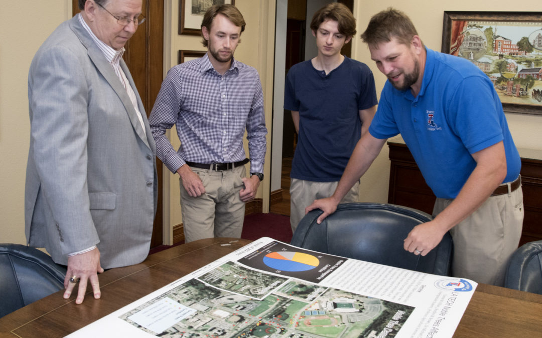 GIS students apply coursework to map tree damage from April 25 storm