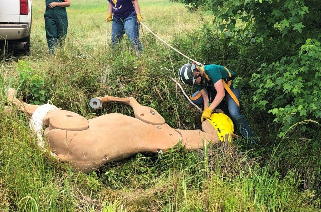 Louisiana Tech hosts Animal Responder Boot Camp