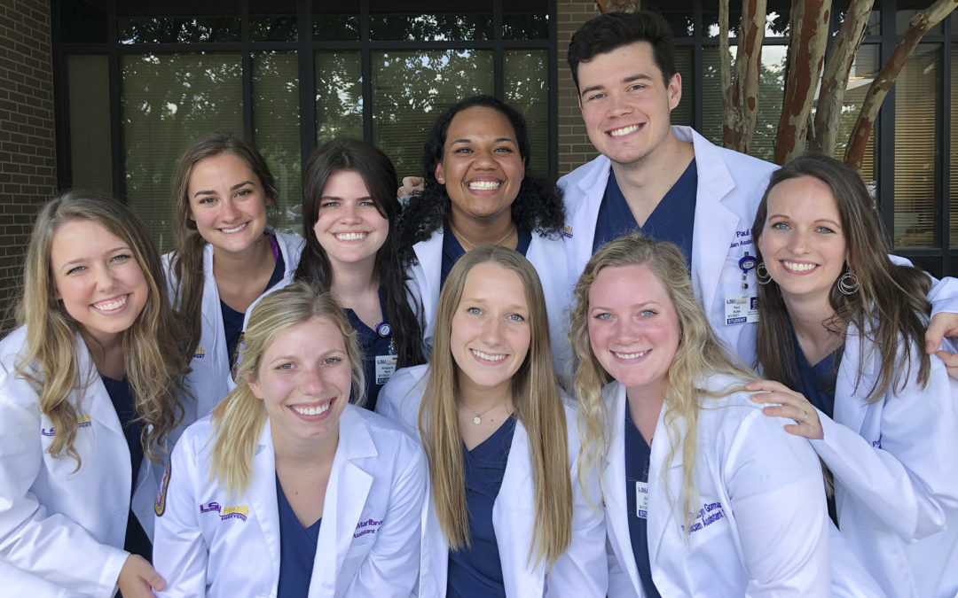 Louisiana Tech well represented in Physician Assistant Program