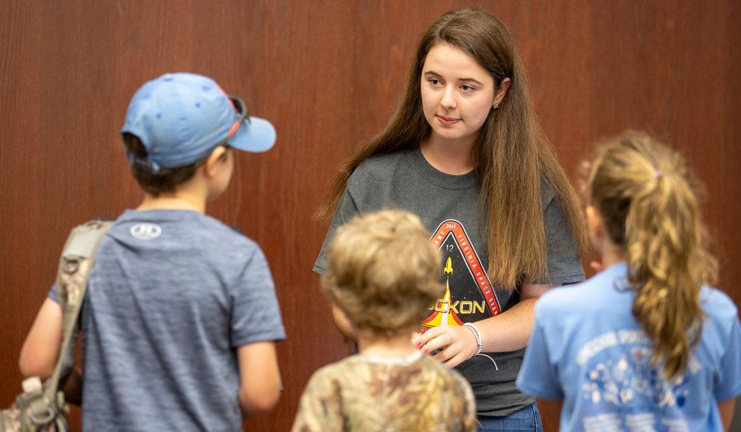 Female engineering quintet gets taste of space at RockOn workshop