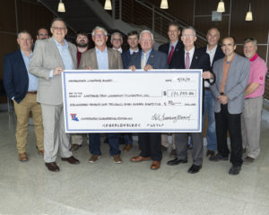 Louisiana Tech receives a $200,000 donation from the Contractors Licensing Board.