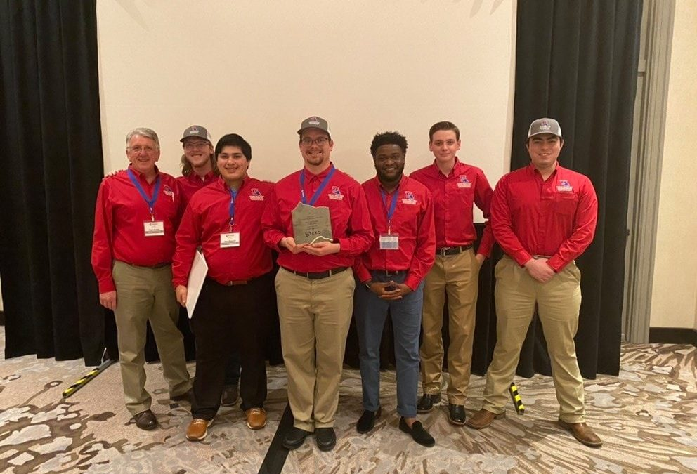 Estimating Team wins first place in TEXO/ASC competition