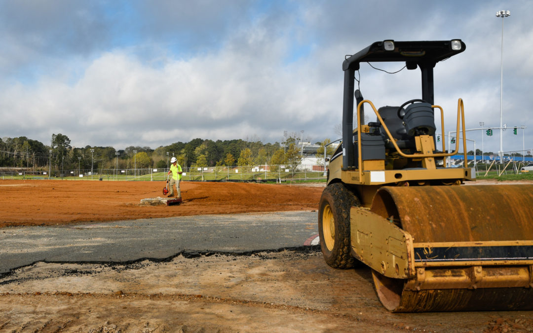 Construction begins on new athletics facilities