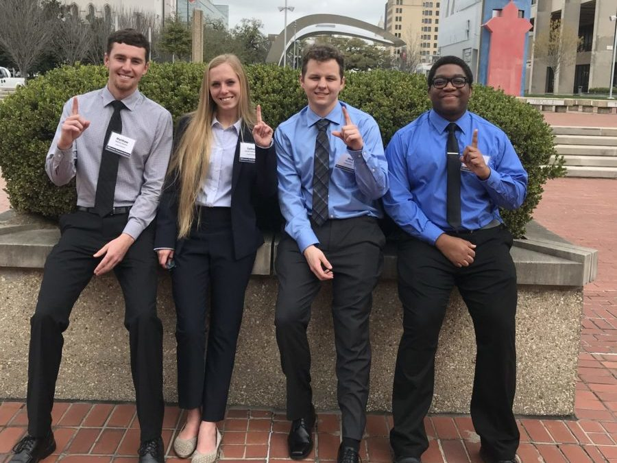 Tech team wins first place at Louisiana Transportation Conference