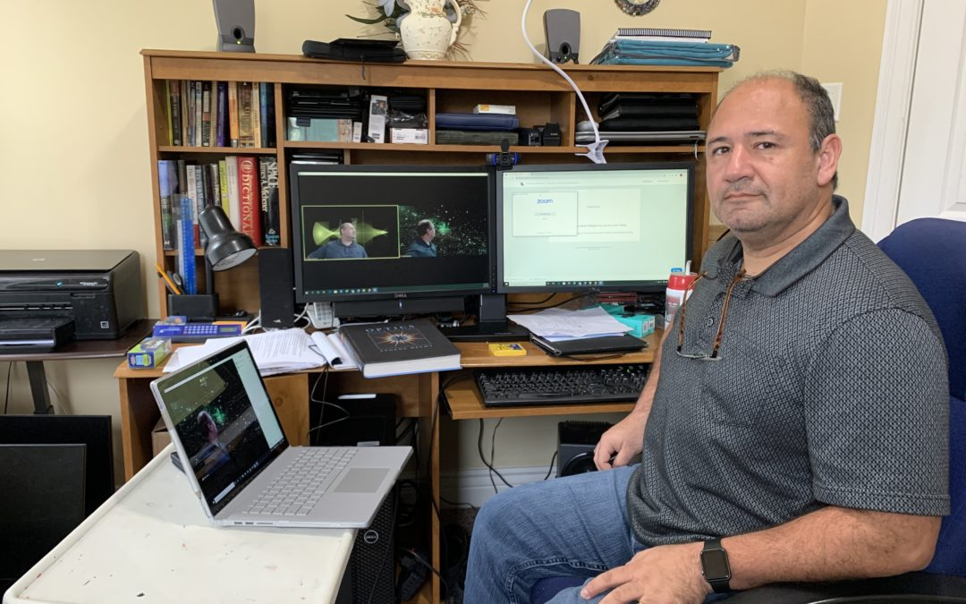 Professors innovate chemistry, physics labs as classes move online