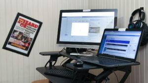 McKnight's workspace