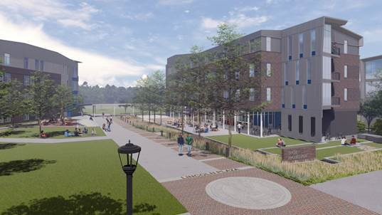 Campus improvements continue with demo of Harris, Harper
