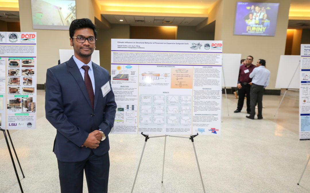Doctoral civil engineering student earns internationally renowned fellowship
