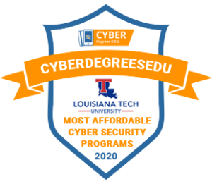 cyber degrees badge