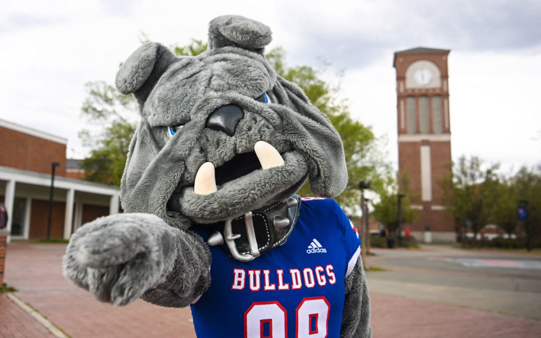 Louisiana Tech mascot to show spirit at national competition