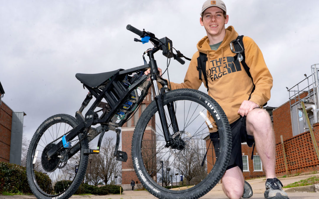 Mechanical Engineering student designs and builds electric bicycle
