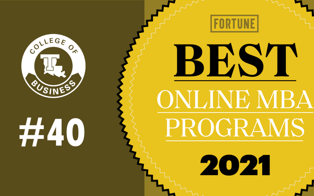 Online MBA ranks high on Fortune's first-ever list of top programs