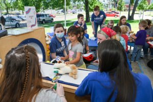 ECEC students learn about health