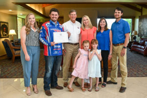 Lane McGaha family
