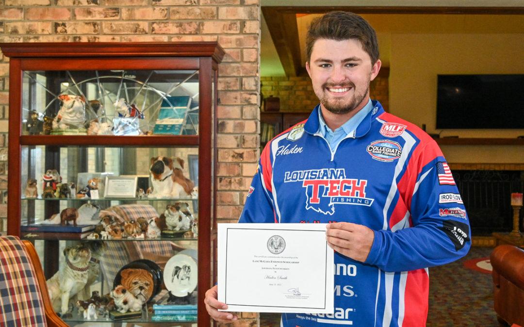 Inaugural McGaha Memorial Scholarship awarded
