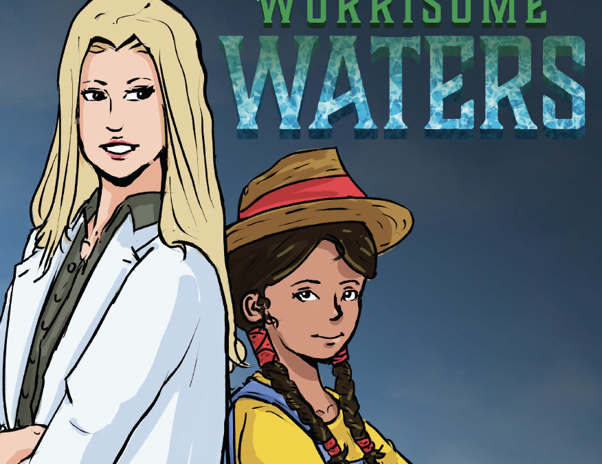 VISTA Center students illustrate first book of 'Journey Towards a Better World' series