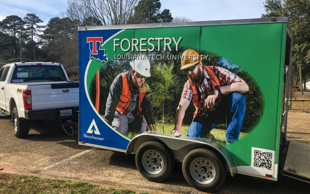 Weyerhaeuser grant provides mobile classroom for Forestry